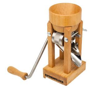 Eschenfelder Kornquetsche | Flocker | Tischmodell Holztrichter & Alutrichter