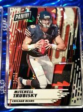 2017 Panini Day/Kickoff Mitch Trubisky CRACKED ICE PATCH #d *12/25* Bears MINT