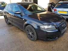 2005 AUDI A3 8P 2.0 TDI BKD, BLACK LY9B, 6 SPEED, WHEEL NUT, SPORTBACK, BREAKING