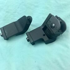 Tactical 45 Degree Offset Iron Sights Back Up Rapid Transition