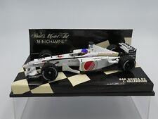 Minichamps 1:43 Jacques Villeneuve BAR Honda 03 F1 2001 race car 400010010
