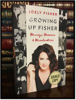 Growing Up Fisher ✎SIGNED✎ by JOELY FISHER New Hardback 1st Edition & Printing