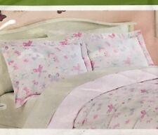 "2 LIVING QUARTERS Microfiber BUTTERFLY THEME PILLOW SHAMS. 20X26"". NWT"