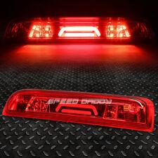 [LED BAR]FOR 14-18 SIERRA SILVERADO THIRD 3RD TAIL BRAKE LIGHT CARGO LAMP RED