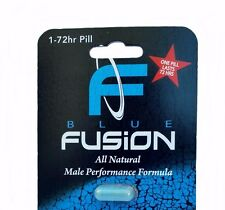 BlueFusion Premium Herbal Male Enhancement and Testosterone Booster