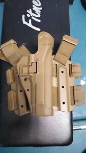 BLACKHAWK! Serpa Tactical Holster Coyote Tan Brown Beretta M9 92