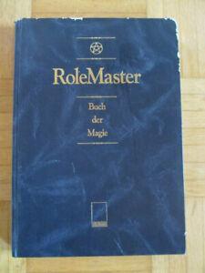 RoleMaster Almanach - BUCH DER MAGIE 1. Auflage 1991 - Queen Games mers merp