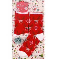 Xmas Cotton Warm Socks Santa Snowman Elk Sock Colorful Women Men Socks Gift JEW#