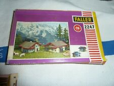 "Faller 9MM ( N) Scale #2247 "" Chalet Building Kit"""