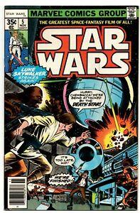 Star Wars #5 Marvel Comics 1977