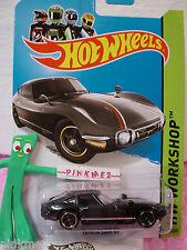 Case A/B 2014 Hot Wheels TOYOTA 2000 GT #192 US Team☆BLACK☆HW Workshop All Stars