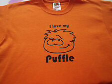 free swimbag club penguin puffle  t shirt new  several colours 12-13ys