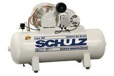 Schulz 3hp Air Compressor 15 Cfm Oil Free 60 Gallon Horizontal New