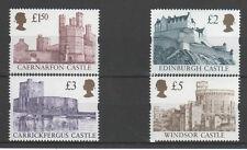 GB 1997 Enschede Castillos escaso a £ 5 (4) SG 1993/6 U/M GATO: £ 80 nuevo precio de venta
