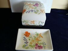 Nice Elizabeth Arden Covered Dish and small platter made in Japan