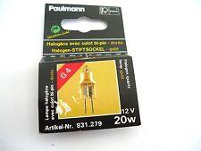 Lampe Ampoule Halogene PAULMANN 12V 20W G4 BI-PIN Dorée 831.279