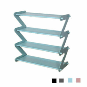3 Tier Large Shoe Rack UK Bookcase Multi-layer Storage Rack Assembly Organizer k