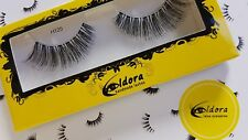 Eldora False Eyelashes H125 Human Hair Strip Lashes