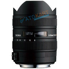 Brand New Sigma AF 8-16mm F4.5-5.6 DC HSM for Nikon Lens