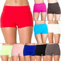 New Womens High Waist Boxer Pants Shorts Ladies Shape wear Plus Size 16 18 20 22