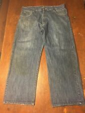 AVIREX Superior Relaxed Blue Jeans Tag Size 42x34 Meas 40x32 Medium Wash