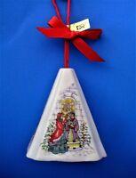 Ornament Festive Fragrance Bell Shaped Porcelain Potpourri Holder