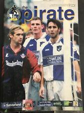 31/10/2000, Bristol Rovers v Sunderland, Worthington Cup, 3rd Round