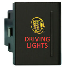 Amarok Push Switch A120R DRIVING LIGHTS on-off LED AMBER/RED VM RIGHT SIDE 12V 3