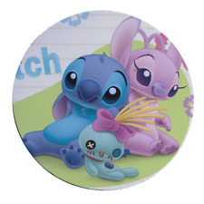 Lilo Stitch PC Office Round Mousepad Mouse Pad Mat y1_04 w0031