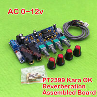 PT2399 Karaoke OK Audio Reverberation Pre Amplifier Reverb Board Microphone