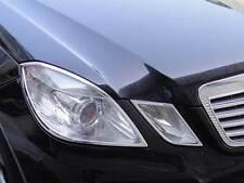 Mercedes W212 E Class Chrome headlamp surrounds Trims Set