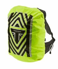Triumph Motorcycles Hi Vis Fluo Reflective Backpack Cover NEW