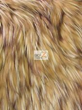 FAUX FAKE FUR ANIMAL SHORT PILE COAT COSTUME FABRIC - Wildcat - BY YARD CLOTHING