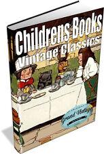 VINTAGE CHILDRENS ILLUSTRATED BOOKS 518 Books on 2 DVD's Alice in Wonderland, Oz