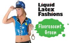 Fluorescent Green Liquid Latex Body Paint - 4 oz