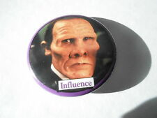 VINTAGE PINBACK BUTTON #104-105 - DICK TRACY MOVIE - INFLUENCE