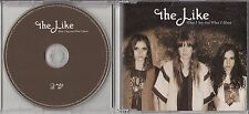 THE LIKE What I Say And What I Mean 2006 UK 1-track promo CD