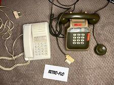 Lot de 2 Téléphones Fixes Vintage