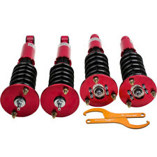 Coilovers Kits For Mitsubishi Eclipse 95-99 2ND Gen Adj Damper 24 Levels Red