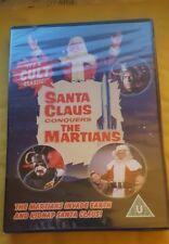 SANTA CLAUS CONQUERS THE MARTIANS DVD - CULT CLASSIC!!