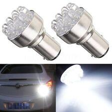 2x 1157 BAY15D Globe 12 LED Feu Frein Ampoule Arrière Lampe Tail Light 12V Blanc