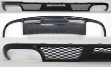 For Audi A6 4F C6 rear bumper diffuser twin exhaust diffuzer addon spoiler