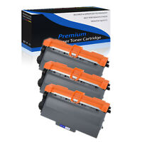 3 PK Compatible Brother TN750 High Yield Black Toner Cartridge Laser MFC-8710DW