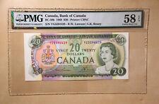 Canada BC-50b 1969 $20 Lawson | Bouey S/N YG5594429 PMG 58 EPQ