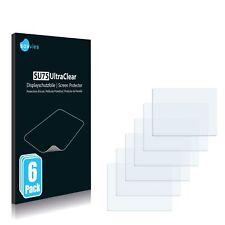 6x protezione schermo per Pentax Optio M85 pellicola di plastica scudo invisibile