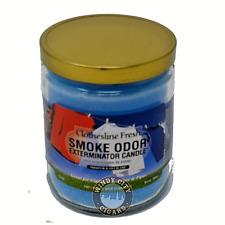 Smoke Odor Exterminator Clothesline Fresh Deodorizing Candle, 13-oz jar