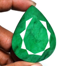 346 Ct Finest Certified Natural Brazilian Emerald Rare Huge Earth Mined Gemstone