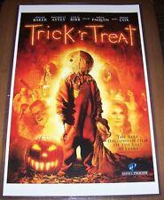 Trick 'R Treat 11X17 Movie Poster Cast Sam
