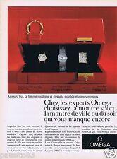 Publicité Advertising 096 1967 Oméga montre de Sport de Ville du Soir