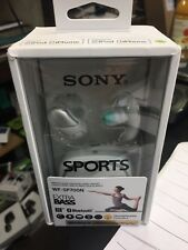 Sony Wg-SP700N True Wireless Noise Canceling Sports In-Ear Headphones, White